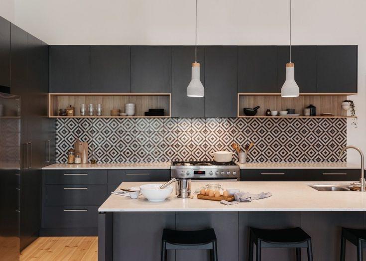 12 thiết kế căn bếp hiện đại đẹp sang trọng và gọn gàng - Ảnh 7