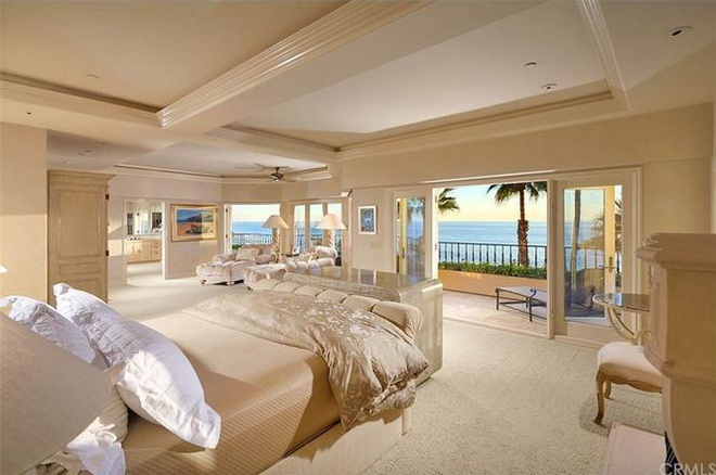Biệt thự nghỉ mát 21 triệu USD của tỷ phú Mỹ ở quận Cam - Ảnh 6