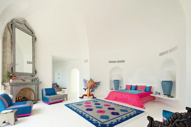 Biệt thự xa hoa mang phong cách Mexico - Ấn Độ của tỷ phú Mỹ - Ảnh 7