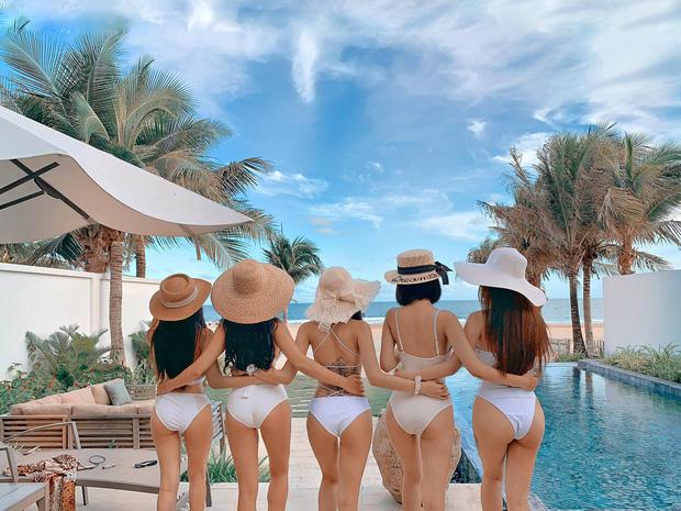 Nhóm bạn thân 5 cô gái trẻ đến từ TP. HCM gây xôn xao MXH bởi vóc dáng quá gợi cảm - Ảnh 2