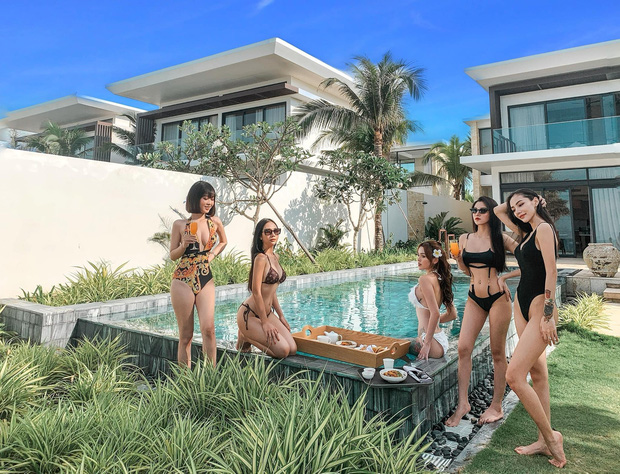 Nhóm bạn thân 5 cô gái trẻ đến từ TP. HCM gây xôn xao MXH bởi vóc dáng quá gợi cảm - Ảnh 3