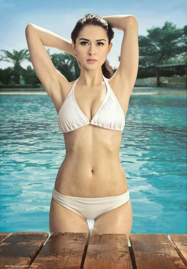Hết thời phát phì sau sinh, mỹ nhân đẹp nhất Philippines tự tin diện bratop khoe cơ bụng săn chắc - Ảnh 1