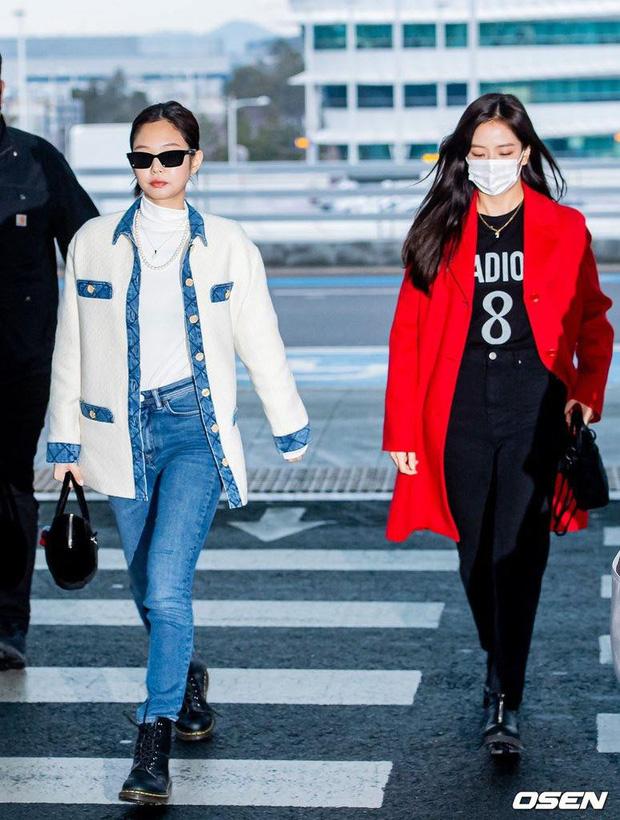 Học lỏm 9 cách mix đồ với boots của sao Hàn khi đi ra sân bay - Ảnh 3