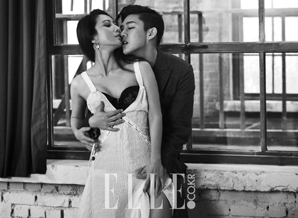 Bộ ảnh từng gây tranh cãi của Kim Hee Ae và sao nam kém 20 tuổi - Ảnh 2