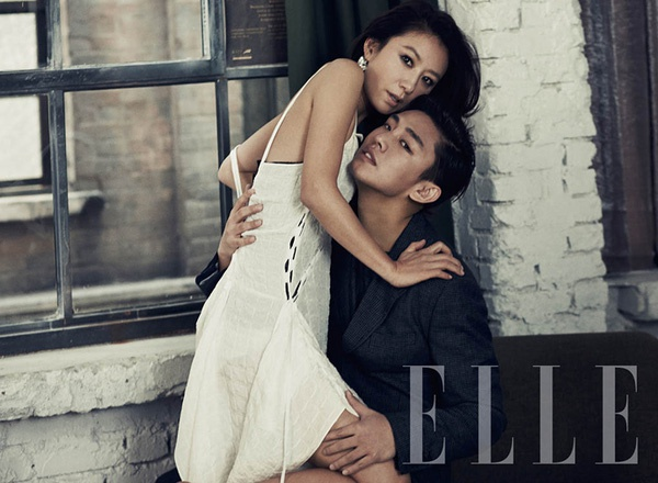 Bộ ảnh từng gây tranh cãi của Kim Hee Ae và sao nam kém 20 tuổi - Ảnh 6