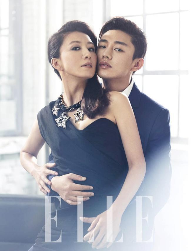 Bộ ảnh từng gây tranh cãi của Kim Hee Ae và sao nam kém 20 tuổi - Ảnh 7