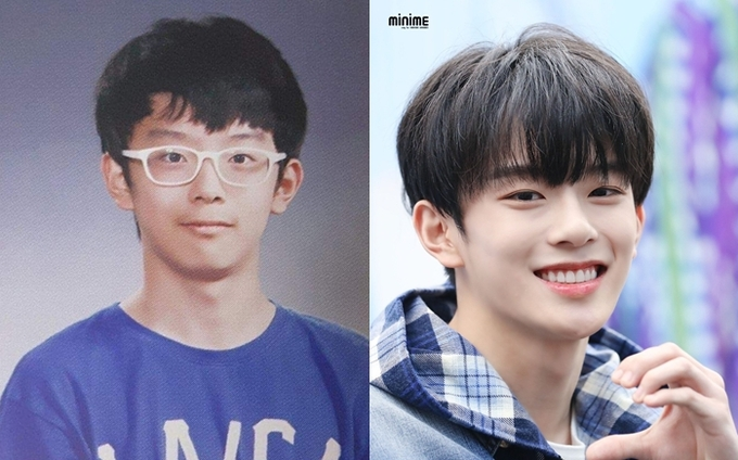 Không thể nhận ra gương mặt những idol nam nổi tiếng trong ảnh tốt nghiệp tiểu học - Ảnh 9