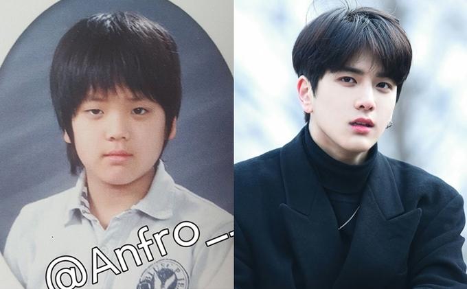 Không thể nhận ra gương mặt những idol nam nổi tiếng trong ảnh tốt nghiệp tiểu học - Ảnh 10