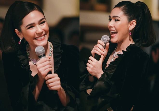 Biểu tượng gợi cảm Thái Lan diện váy khoét cổ sâu - Ảnh 6