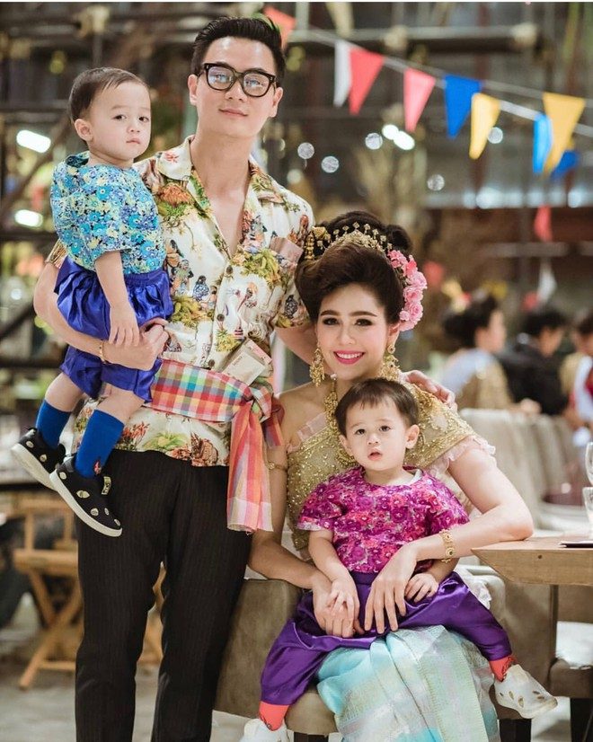 Biểu tượng gợi cảm Thái Lan diện váy khoét cổ sâu - Ảnh 7