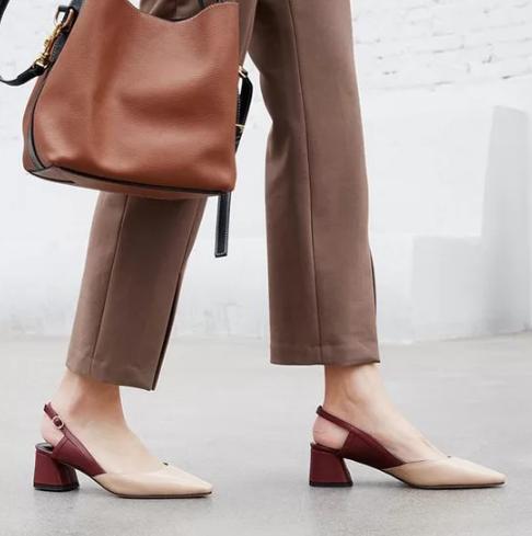 Các kiểu giày đế thấp cho chị em văn phòng - Ảnh 8