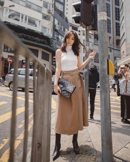Cách phối đồ dạo phố cho nàng công sở - Ảnh 10