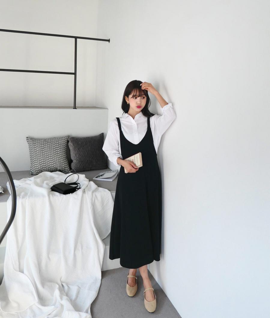 Học gái Hàn mix áo sơ mi sao cho đẹp và chuẩn nhất có thể - Ảnh 9