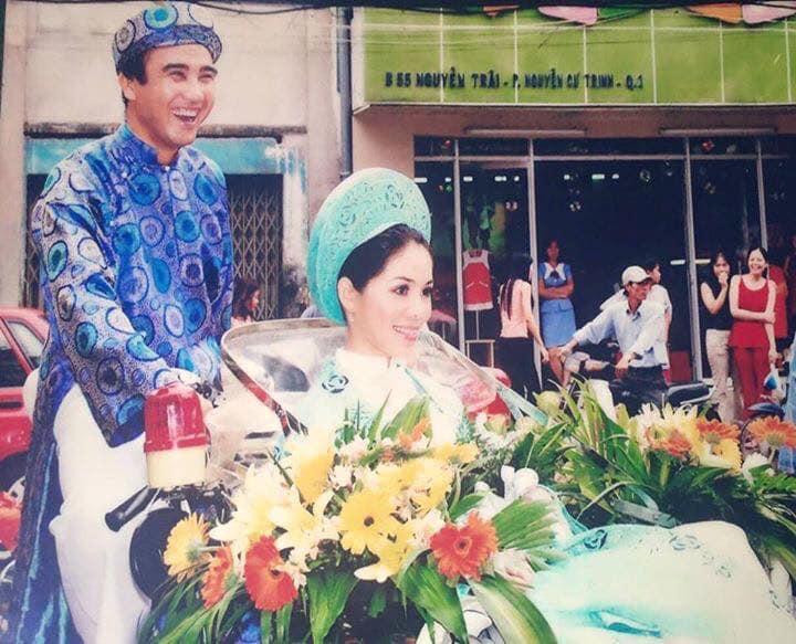 MC Quyền Linh cùng vợ kỷ niệm ngày cưới hết sức giản đơn mà đầy ngọt ngào  - Ảnh 2