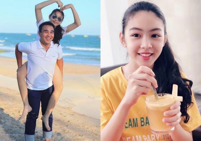 Nhan sắc các cô con gái tuổi teen, xinh như mỹ nhân của sao Việt - Ảnh 3