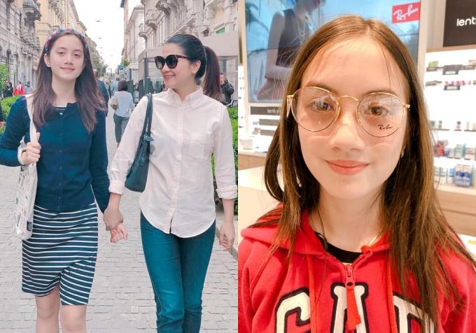 Nhan sắc các cô con gái tuổi teen, xinh như mỹ nhân của sao Việt - Ảnh 5