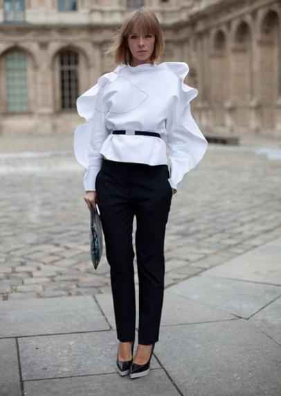 Những kiểu áo blouse cho nàng mê xu hướng bèo nhún - Ảnh 3