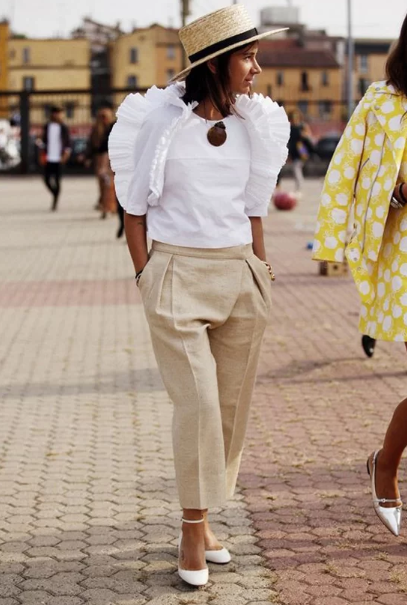 Những kiểu áo blouse cho nàng mê xu hướng bèo nhún - Ảnh 5