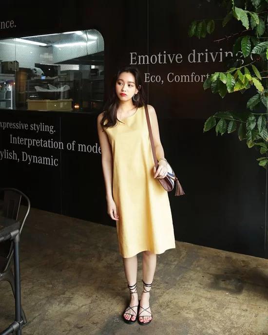 Phối đồ dạo phố với các kiểu váy không kén dáng - Ảnh 6
