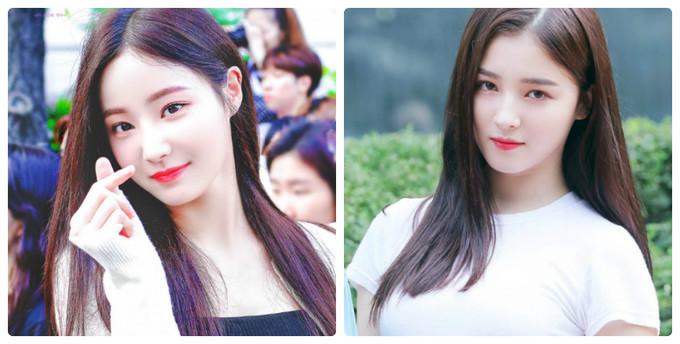 Nancy (phải) thu hút sự chú ý từ khi mới debut trong khi công ty muốn xếp Yeon Woo vào vị trí visual của Momoland. Tuy nhiên, gần đây Nancy xuống phong độ nhan sắc vì tăng cân. Yeon Woo lại hút nhiều fan nhờ hình thể gợi cảm.