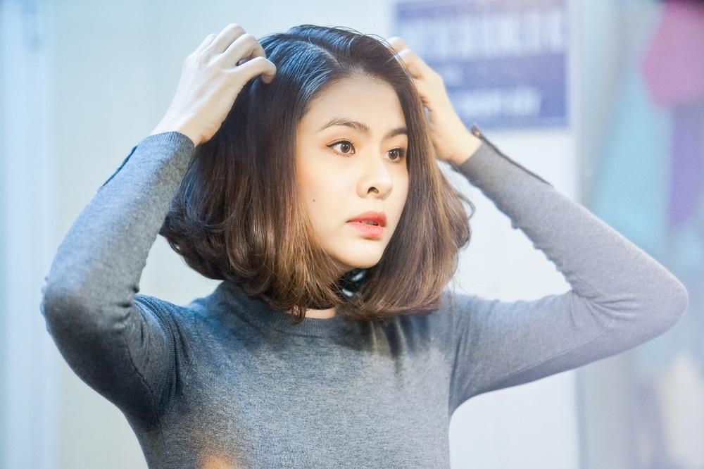 Vân Trang: 'Tôi và chồng không biết ghen tuông nhau' - Ảnh 1