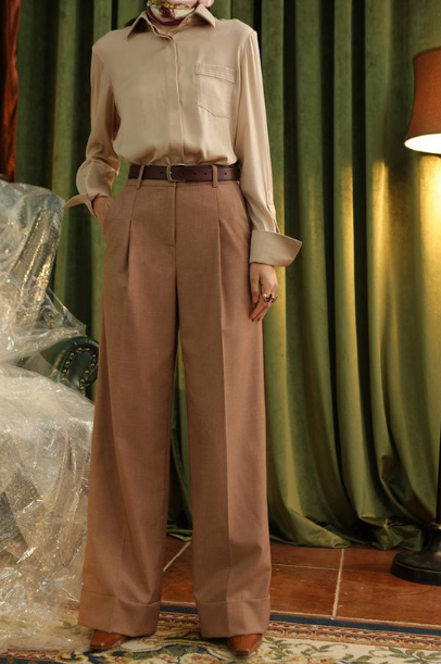 Váy áo mùa thu cho nàng công sở - Ảnh 10