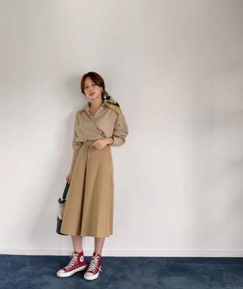 Váy áo mùa thu cho nàng công sở - Ảnh 6