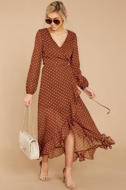 Váy chấm bi phong cách retro - Ảnh 5