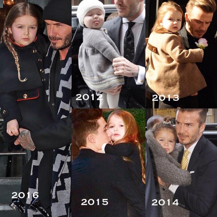 Ông bố David Beckham tự tay làm bánh cho con gái cưng