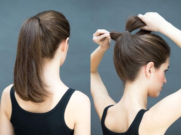 Đổi mới diện mạo chỉ trong 1 phút với những kiểu tóc đơn giản dễ làm - Ảnh 6