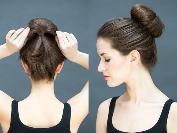 Đổi mới diện mạo chỉ trong 1 phút với những kiểu tóc đơn giản dễ làm - Ảnh 7