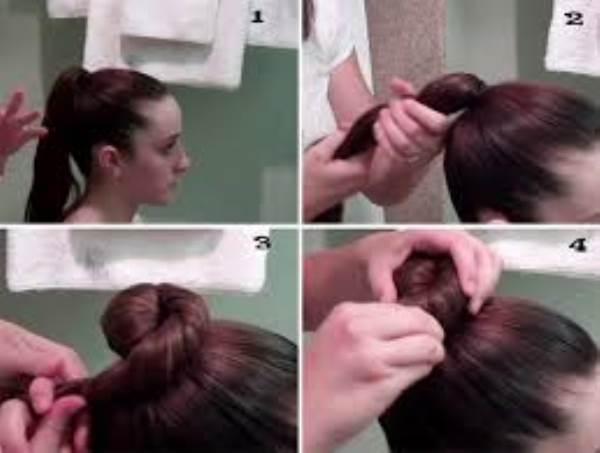 Hướng dẫn những cách búi tóc dễ thương được ưa chuộng nhất - Ảnh 3