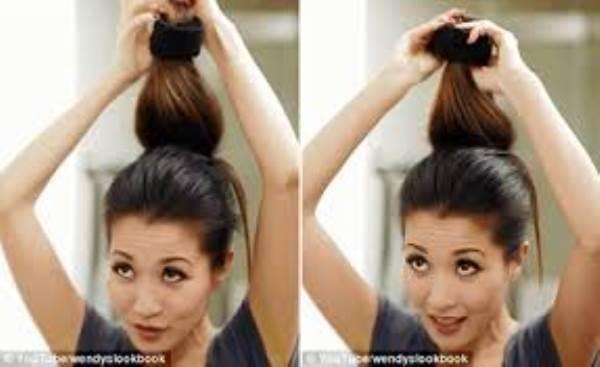 Đẹp ngẩn ngơ với các kiểu búi tóc đơn giản - Ảnh 1