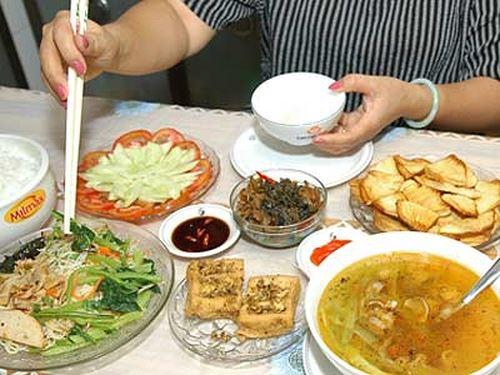 Bữa ăn phù hợp cho người bị tiểu đường