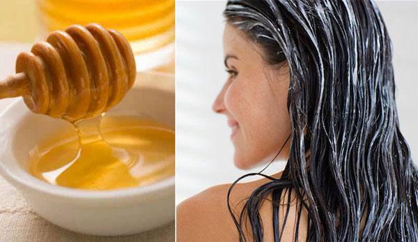 Tóc trở nên thẳng mượt tự nhiên với mật ong