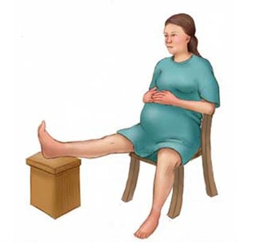 Mẹ bầu đi đẻ sẽ nhàn tênh nếu biết áp dụng các tư thế này trong thời gian chờ sinh - Ảnh 3