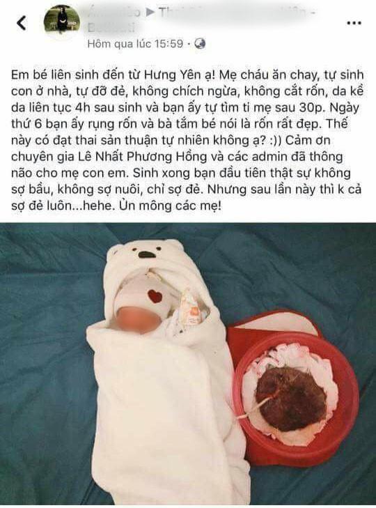 Mẹ bầu ở Hưng Yên tự đỡ đẻ: Quá nguy hiểm! - Ảnh 1