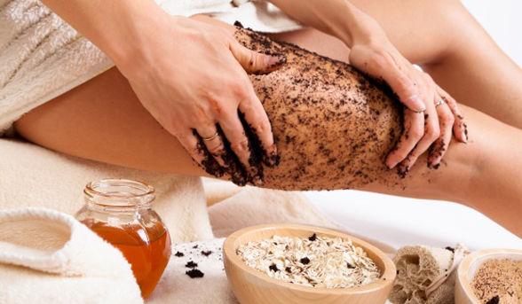 Công thức tẩy da chết tự nhiên an toàn cho bà bầu lại dưỡng đẹp da: Bột yến mạch và mật ong