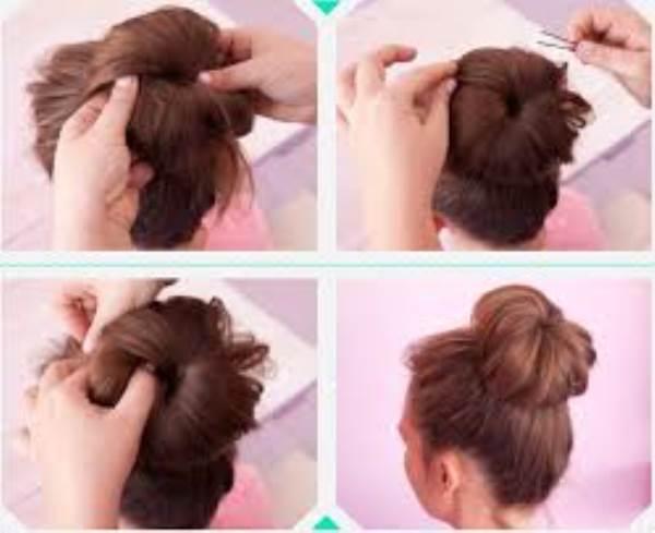 Hướng dẫn những cách búi tóc dễ thương được ưa chuộng nhất - Ảnh 6