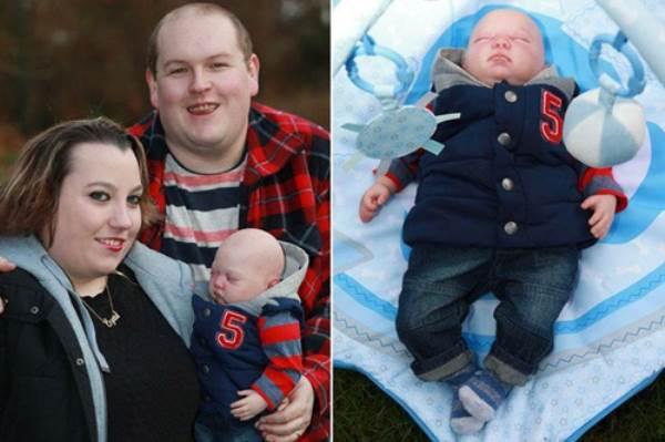 Hạnh phúc của cặp đôi sinh được 'em bé tái sinh' - Ảnh 1