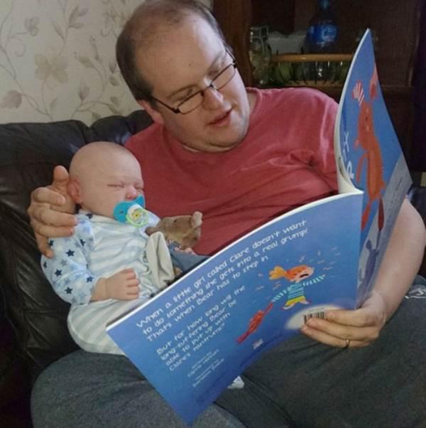 Hạnh phúc của cặp đôi sinh được 'em bé tái sinh' - Ảnh 3