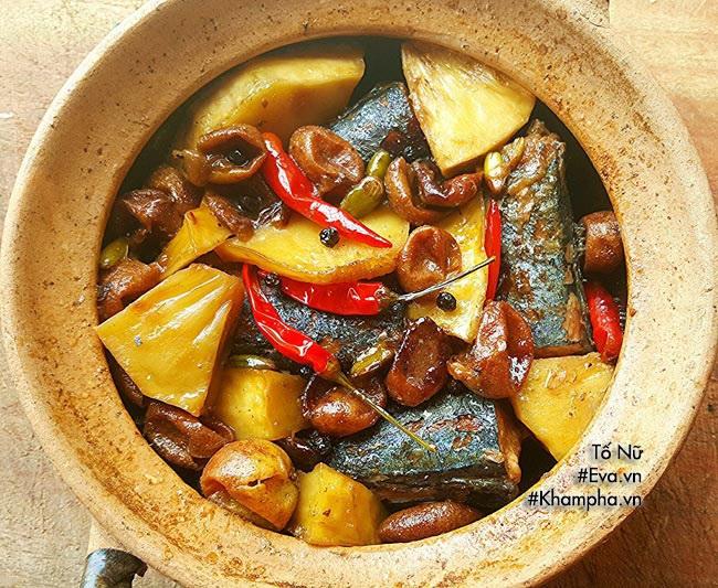 Cá kho hồng bì vừa lạ vừa thơm, ăn cực đưa cơm - Ảnh 3
