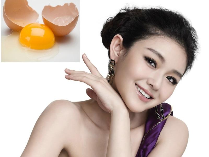 Dùng trứng gà làm trắng da cực hiệu nghiệm