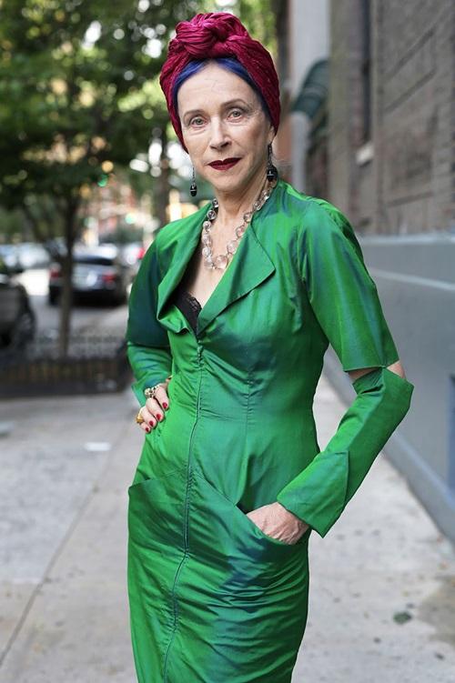 Gu thời trang 'cực chất' của những cụ bà trăm tuổi