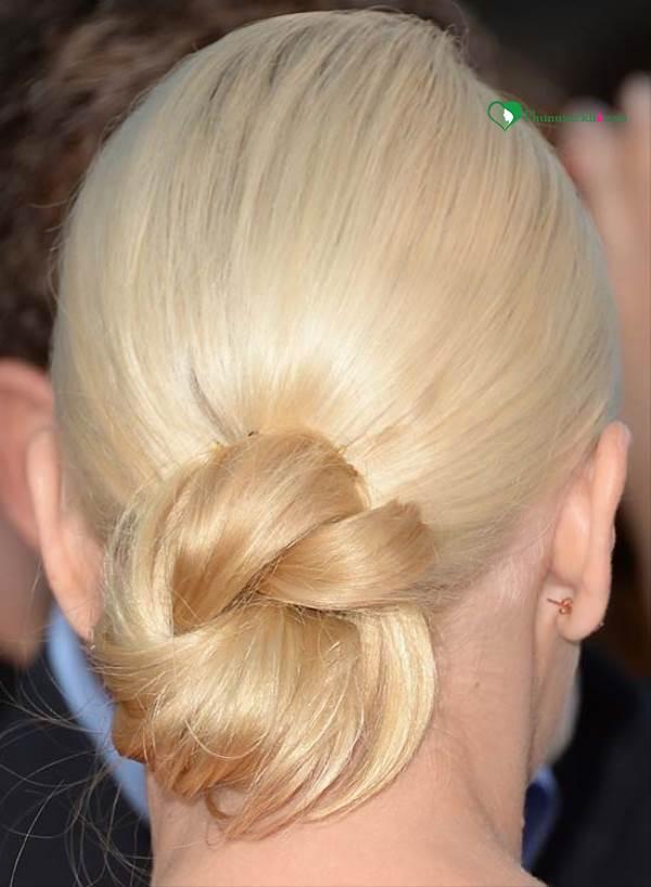 Các kiểu búi tóc đẹp lung linh cho mùa đông năm nay - Ảnh 1