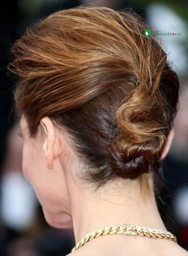 Các kiểu búi tóc đẹp lung linh cho mùa đông năm nay - Ảnh 3