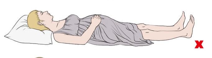 Các tư thế ngủ mẹ bầu nên tránh để không gây hại đến thai nhi - Ảnh 1