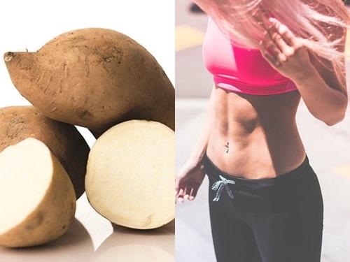 Ở giai đoạn 2, ăn khoai lang thay thế cho cơm giúp bạn giảm cân tốt hơn