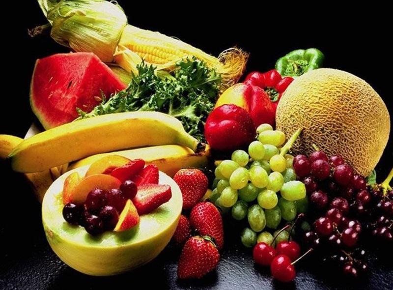 Hoa quả thắp hương