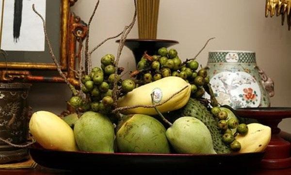 Cách bày hoa quả trên bàn thờ ngày tết theo phong cách miền Nam